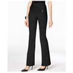 I-N-C Womens High-Rise Casual Trouser Pants