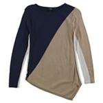 Alfani Womens Colorblocked Pullover Sweater
