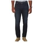 Nautica Mens Whiskered Straight Leg Jeans