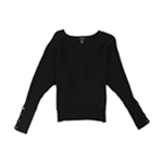 Alfani Womens Mitered Pullover Sweater