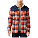 Free Country Mens Woodsman Sherpa Shirt Jacket