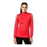 Thalia Sodi Womens Studded Cold Shoulder Pullover Sweater