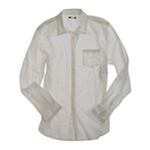 bar III Mens Stitched Button Up Shirt