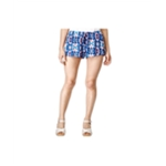 Stoosh Womens Printed Soft Casual Mini Shorts