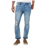 I-N-C Mens Ripped Skinny Fit Jeans
