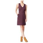 maison Jules Womens Printed A-line Shift Dress