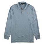 Ralph Lauren Mens Heathered Rugby Polo Shirt