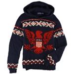 Ralph Lauren Mens Intarsia Hoodie Sweatshirt