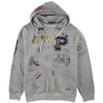 Ralph Lauren Mens Graphic Fleece Hoodie Sweatshirt