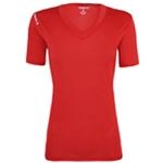 Reebok Womens Volt V-Neck Performance Basic T-Shirt