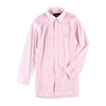Ralph Lauren Mens Slim Fit Stripe Button Up Dress Shirt
