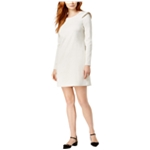 maison Jules Womens Ruffled Shift Dress