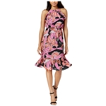 maison Jules Womens Printed A-line Dress