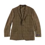 Ralph Lauren Mens Houndstooth Two Button Blazer Jacket