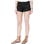 American Rag Womens Ripped Casual Denim Shorts
