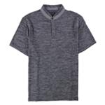 Tasso Elba Mens Heathered Henley Shirt