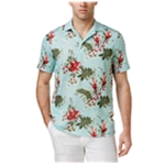 Tasso Elba Mens Orchid Rugby Polo Shirt
