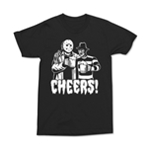 Changes Mens Cheers Graphic T-Shirt