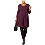 Style & Co. Womens Swing A-line Dress