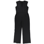 Tahari Womens Star Neck Jumpsuit