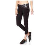 Aeropostale Womens Striped Sequined Yoga Pants