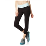Aeropostale Womens LLD Leopard Cropped Athletic Track Pants