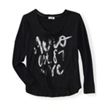 Aeropostale Womens Aero Est. 87 Nyc Thermal Sweater