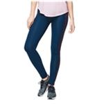 Aeropostale Womens Contrast Space-dye Yoga Pants