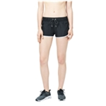 Aeropostale Womens Simple Contrast Athletic Workout Shorts