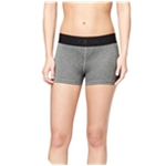 Aeropostale Womens Rubber Logo Athletic Compression Shorts