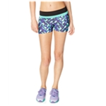 Aeropostale Womens Neon Volleyball Athletic Workout Shorts