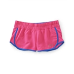 Aeropostale Womens Neon Running Athletic Workout Shorts