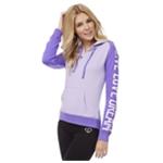 Aeropostale Womens Logo Sleeve Hoodie Sweatshirt
