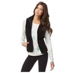 Aeropostale Womens Fuzzy FZ Fleece Vest