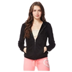 Aeropostale Womens Fleece FZ Hooded Hoodie Sweatshirt
