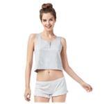 Aeropostale Womens Henley Pajama Sleep Tank Top