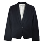 Tahari Womens Professional One Button Blazer Jacket