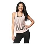 Aeropostale Womens Burnout RUN Tank Top