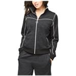 Aeropostale Womens Contrast Mock Neck Track Jacket
