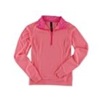 Aeropostale Womens Half Zip Pullover Basic T-Shirt