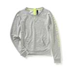 Aeropostale Womens Mesh Popover Sweatshirt