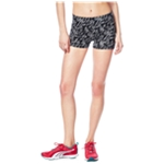 Aeropostale Womens Lightening Fold Over Athletic Workout Shorts