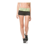 Aeropostale Womens Animal Yoga Athletic Workout Shorts