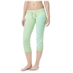 Aeropostale Womens Checkered Lounge Athletic Sweatpants