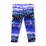 Aeropostale Womens Cropped Striae Athletic Track Pants