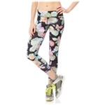 Aeropostale Womens Floral Active Athletic Track Pants