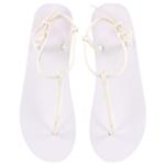 Aeropostale Womens Solid Flip Flop Sandals