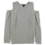 Charter Club Womens Cold-Shoulder Sweatshirt