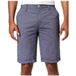 I-N-C Mens Chambray Casual Walking Shorts