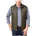 Tasso Elba Mens Fleece Line Quilted Jacket